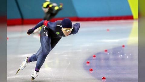'빙속여제' 이상화, 대표 선발전 1,000m도 1위...1분17초60
