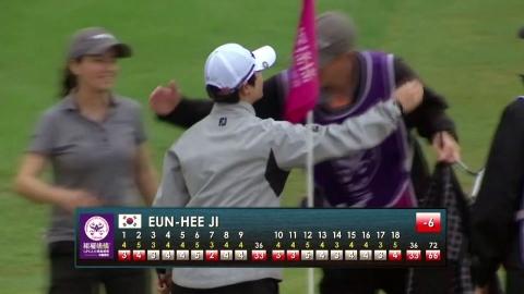 지은희, LPGA 타이완 대회 첫날 선두...박성현 하위권