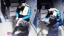 [좋은뉴스] 할머니와 경찰관의 뜨거운 포옹