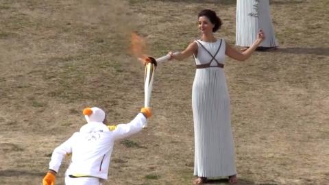 '평창의 불꽃' 피어오른다!...오늘 그리스 성화 채화