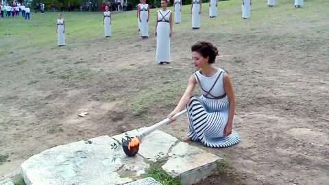 '평창의 불꽃' 피어올랐다!...오늘 그리스 성화 채화