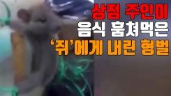 [자막뉴스] 상점 주인이 음식 훔쳐먹은 '쥐'에게 내린 형벌