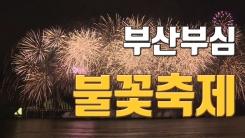 [자막뉴스] '10월의 멋진 날' 밤바다 수놓은 불꽃 향연