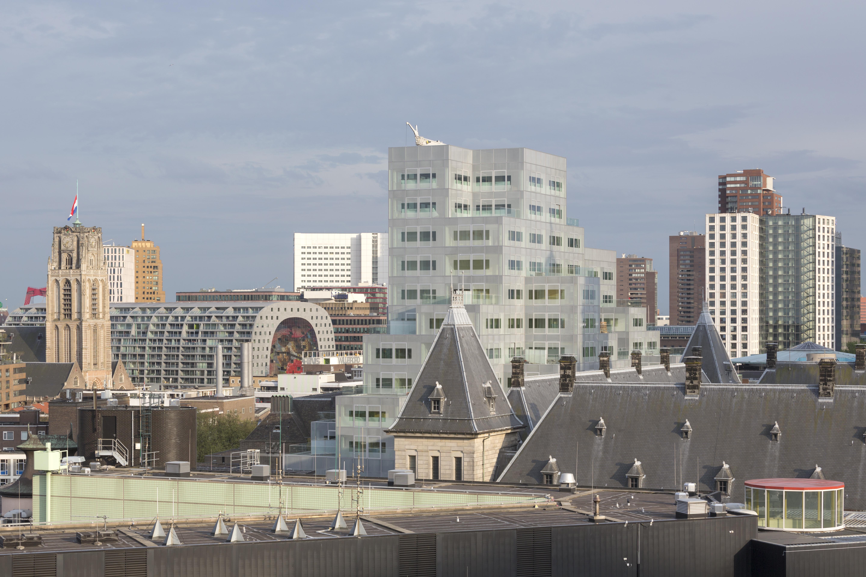 〔안정원의 디자인 칼럼〕 로테르담의 독특한 주상복합건물, 티메르하위스1