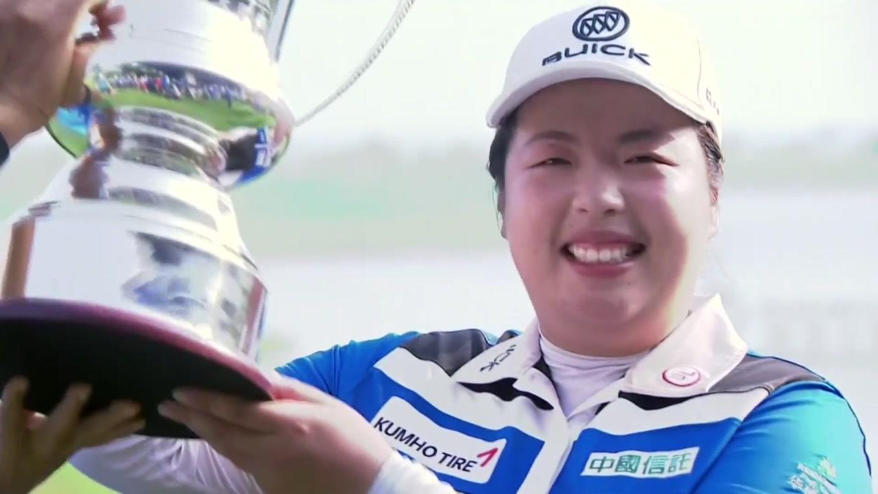 펑산산, LPGA 2주 연속 우승...세계 1위 예약