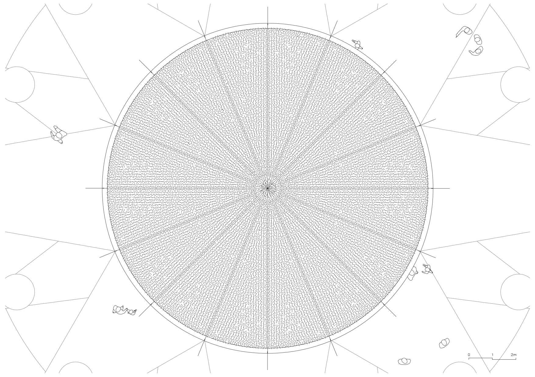 〔안정원의 디자인 칼럼〕 원형 직물 구조물이 연출하는 환상적이고 추상적인 세계 2