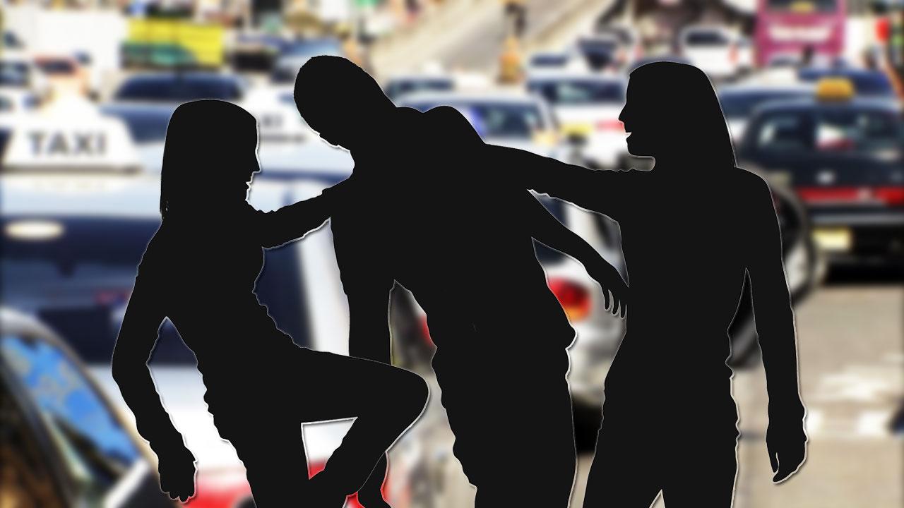 여중생 2명이 술 취해 70대 택시기사 폭행