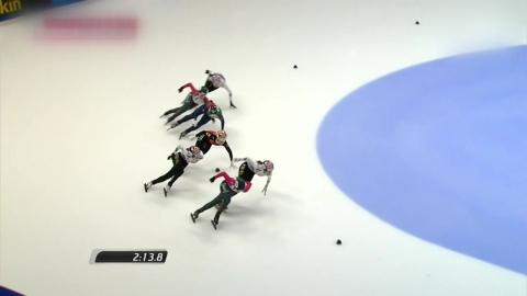 최민정, 월드컵 4차 대회 1,500m 금메달...심석희 2위