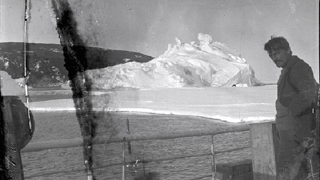 100년 전 남극에 숨겨졌던 필름 현상