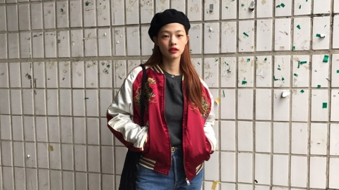 루키 모델 김아현의 걸크러시 스타일링 엿보기!