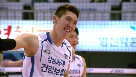 삼성화재, '4년 만에 9연승' 질주...KLPGA팀 역전 리드