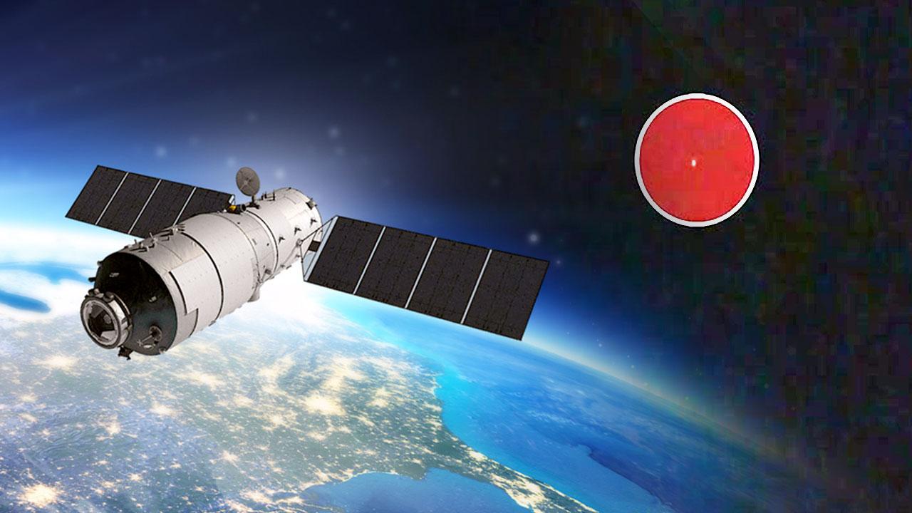 중국 우주정거장 '톈궁 1호', 연말 한반도에 추락 가능성