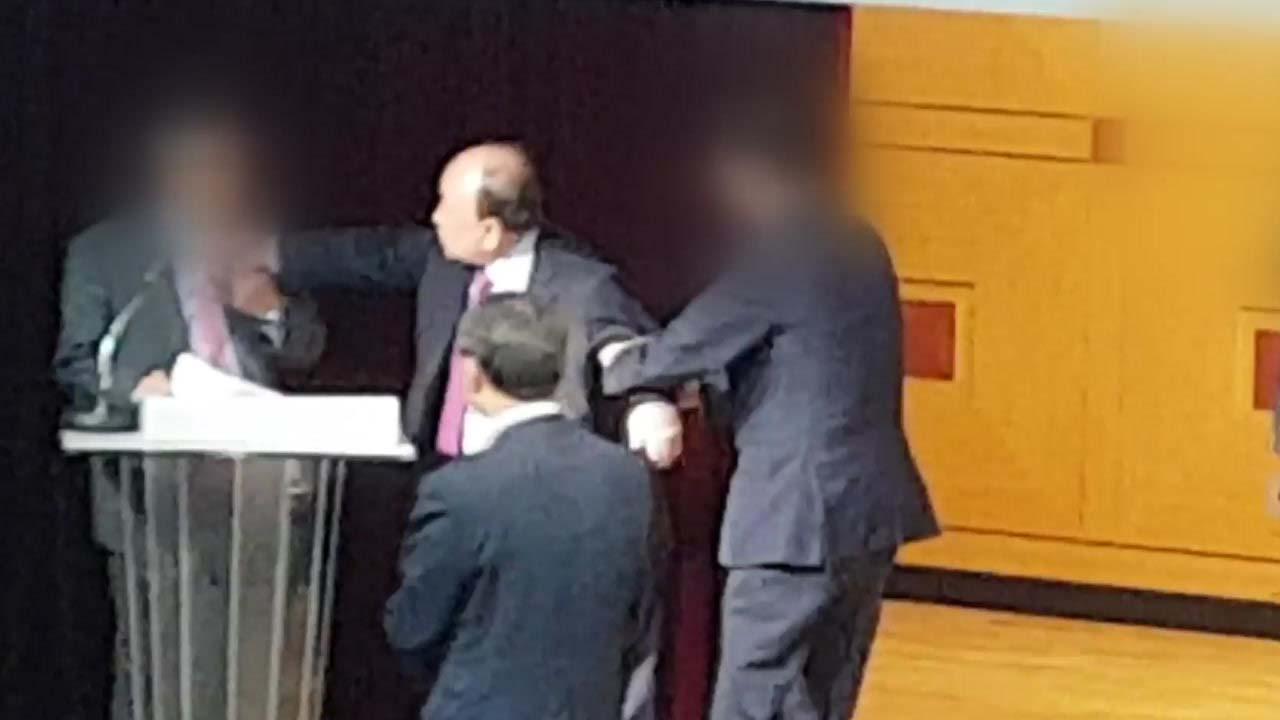 """[단독] """"발전기금 강요에 멱살""""...남서울대 교수 상대 갑질 논란"""