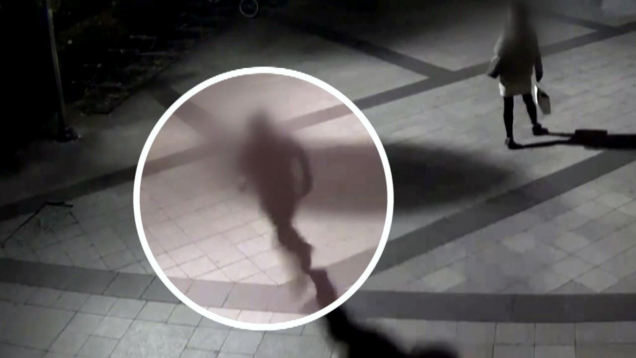 """[영상] '아파트 침입' 괴한 초등학교 흉기 난동...""""추적 중"""""""