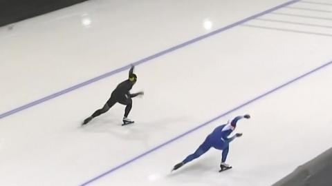 이상화, 월드컵 3차 500m 은메달...고다이라 금메달