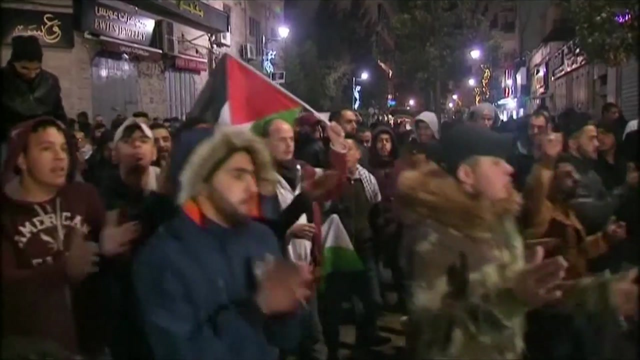 """[취재N팩트] """"예루살렘은 이스라엘 수도""""...불 붙은 '뇌관'"""