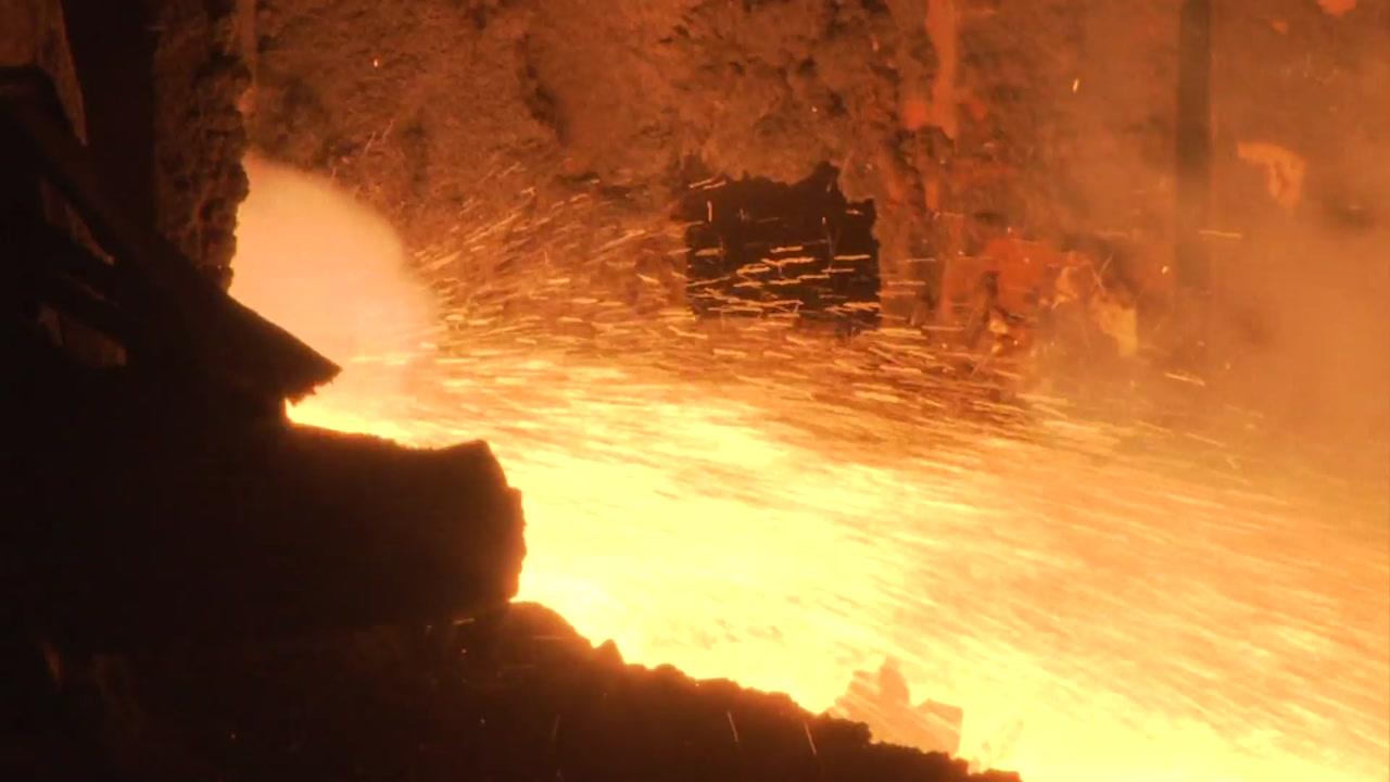[기업] 포스코 자체개발 '파이넥스' 쇳물 2천만 톤 돌파