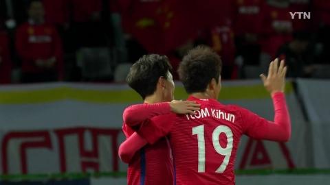 신태용호, 동아시안컵 첫 상대 중국과 무승부