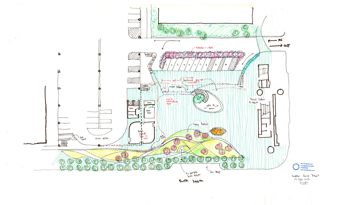 〔안정원의 건축 칼럼〕 안무가의 댄스 기하학에서 공간 라인을 매칭한 유기적인 디자인 3