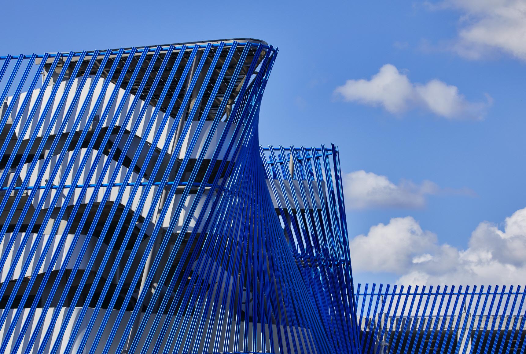 〔안정원의 건축 칼럼〕 안무가의 댄스 기하학에서 공간 라인을 매칭한 유기적인 디자인 4