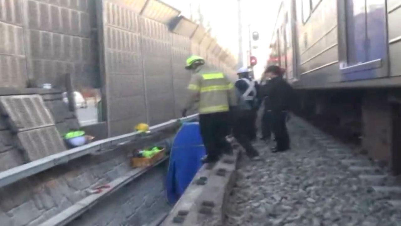"""""""지하철에서 작업하다 또..."""" 온수역에서 열차에 치여 숨져"""