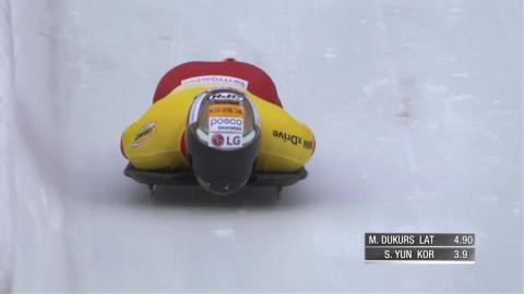윤성빈, 두쿠르스 이어 은메달…진짜 경쟁은 이제부터
