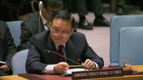 """北 유엔대사 """"핵 보유국으로 비확산의무 이행"""""""