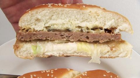 """""""편의점 햄버거 나트륨·지방, 1일 기준치 절반"""""""