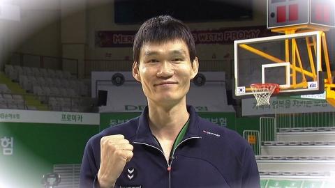 마지막 발걸음도 따뜻한 기부...코트 떠나는 '레전드' 김주성