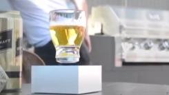 [영상] 마술처럼...공중부양하는 유리컵