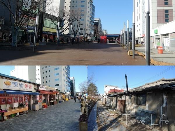 강릉 중심가의 관광지, 대도호부관아와 월화거리