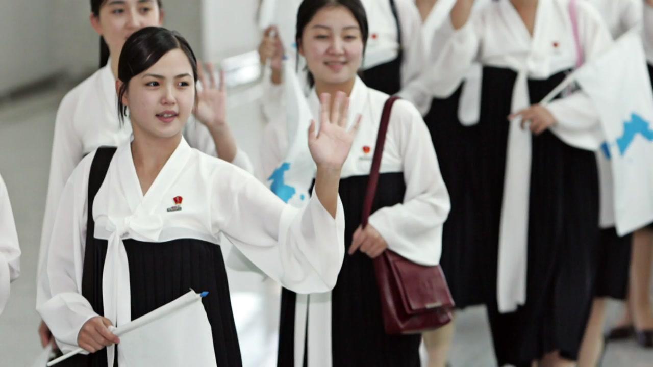 '반갑습네다' 3차례 남한에 왔던 北 응원단
