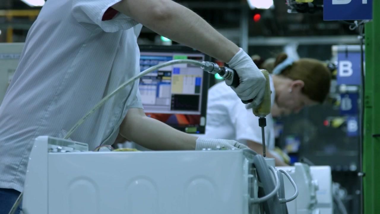 삼성전자, 미국 가전 공장 가동 시작