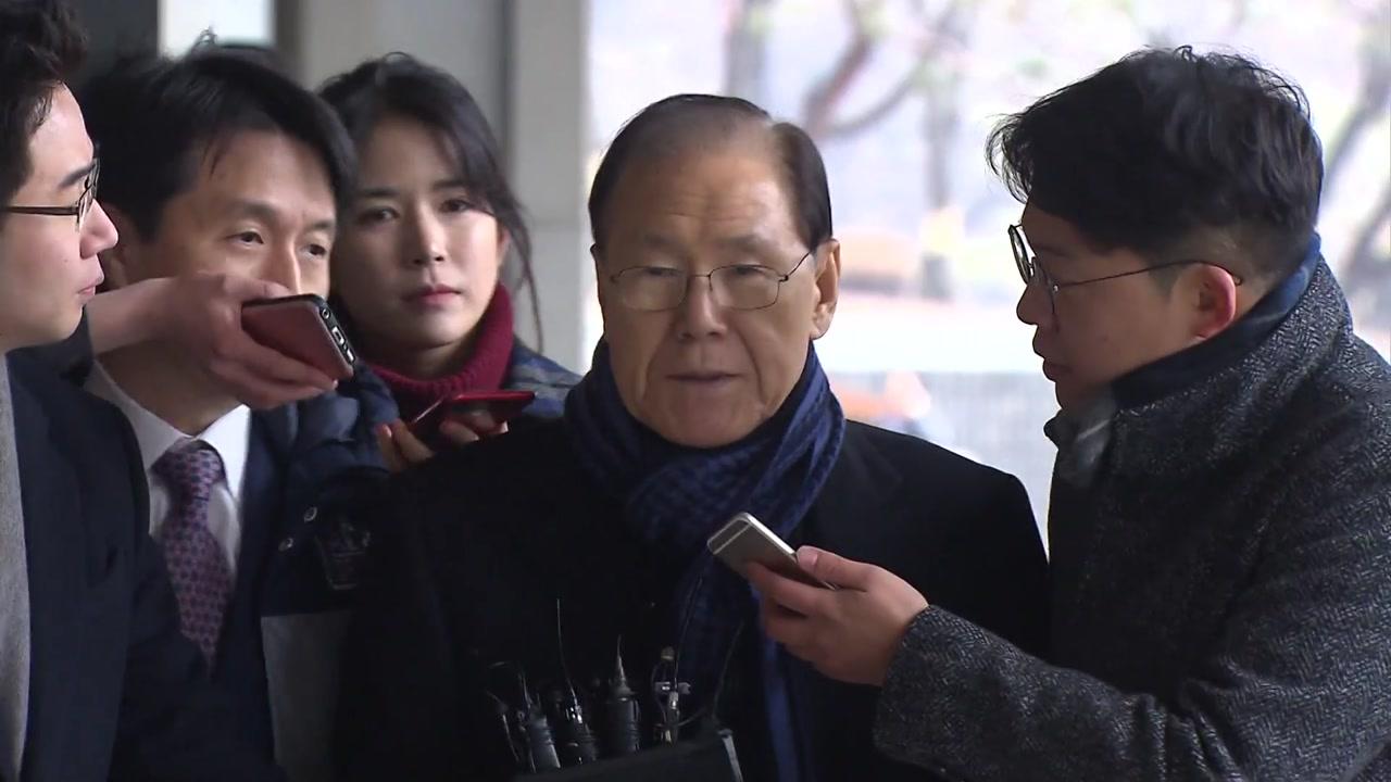 'MB 집사' 김백준 검찰 출석