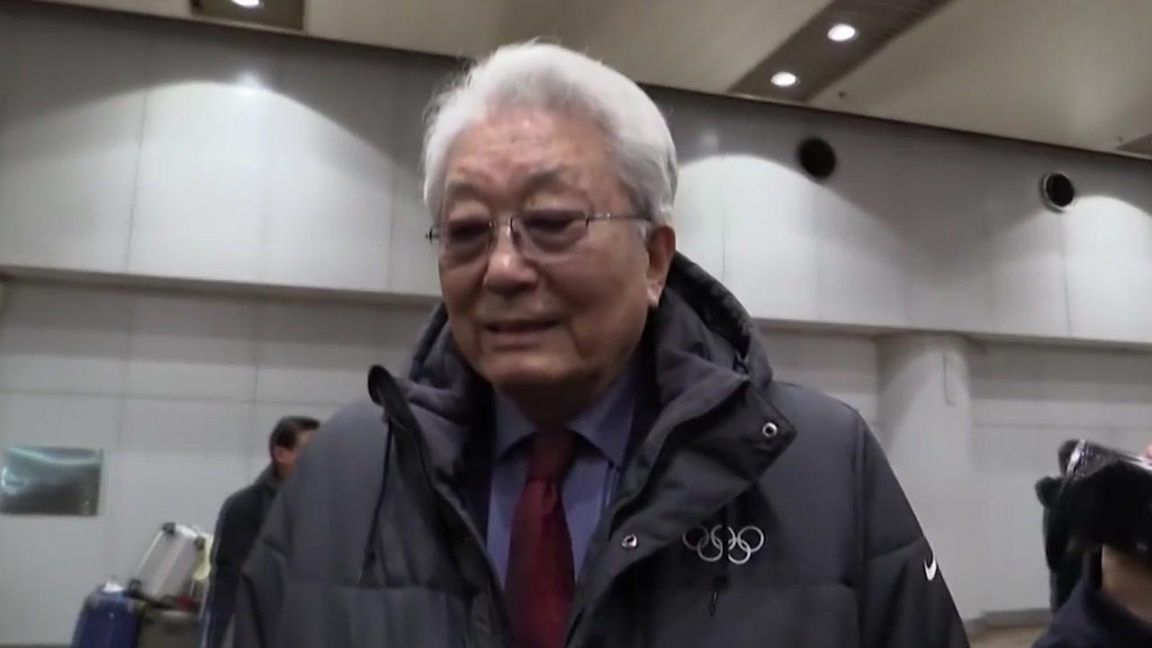 """장웅 """"IOC, 남북 단일팀 제안 고려 중""""...'北 입장'은 즉답 피해"""