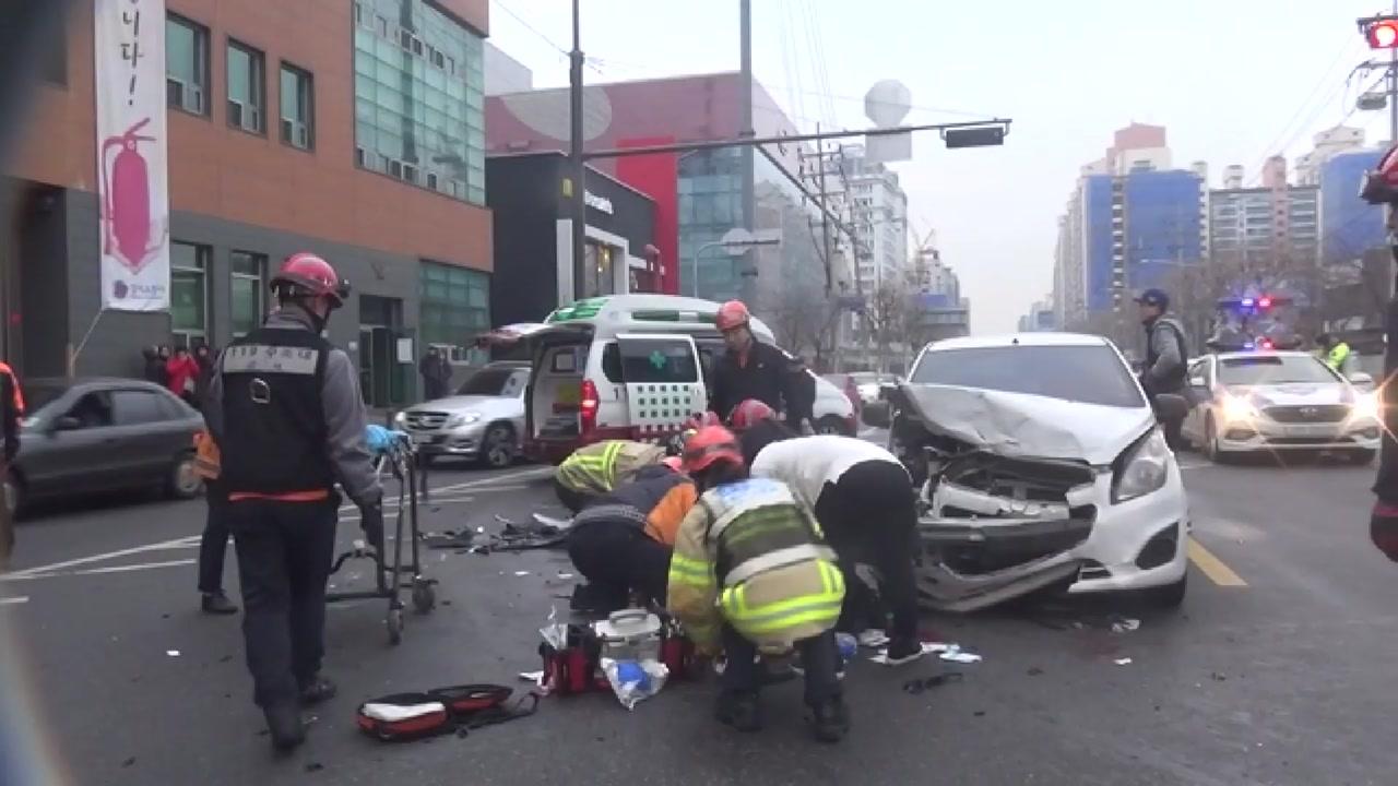 서울 강서구 세차장서 택시 갑자기 돌진...1명 사망·5명 부상