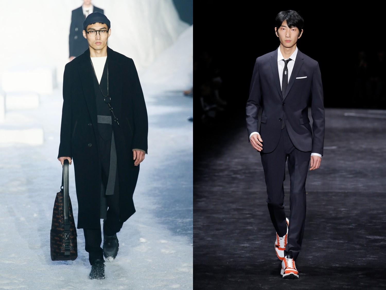 YG 케이플러스 모델들, 2018 F/W 밀란 패션위크 접수