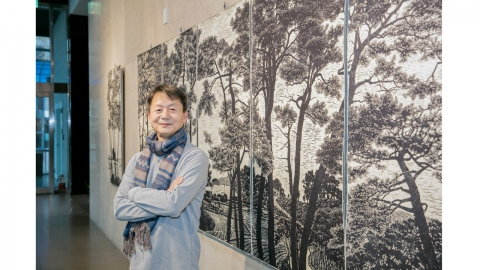 """[피플앤피플] """"이야기가 있는 국토, 목판화에 담다"""" 목판화가 김억"""