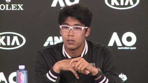 정현, 한국 선수 최초 호주오픈 16강 진출