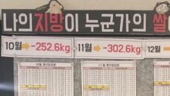 [좋은뉴스] 살을 빼면 쌀이 되는 이색기부