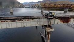 [지구촌생생영상] '길이 570m·높이 20m'...세계서 가장 위험한 다리