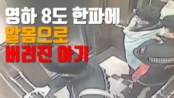 [자막뉴스] 영하 8도 한파에 알몸으로 버려진 아기