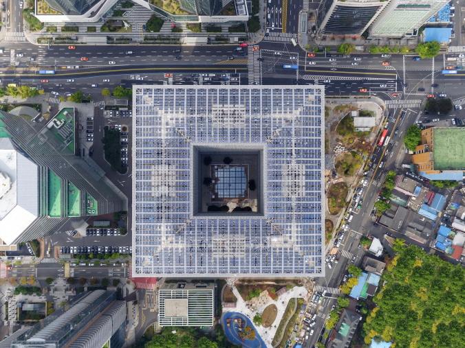 〔안정원의 디자인 칼럼〕 아모레퍼시픽 신 본사의 건강한 건축 공간 들여다보기 1