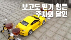 [자막뉴스] 보고도 믿기 힘든 '주차의 달인'