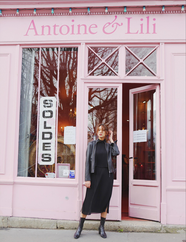 이호정, 파리 거리에서도 숨길 수 없는 모델 포스