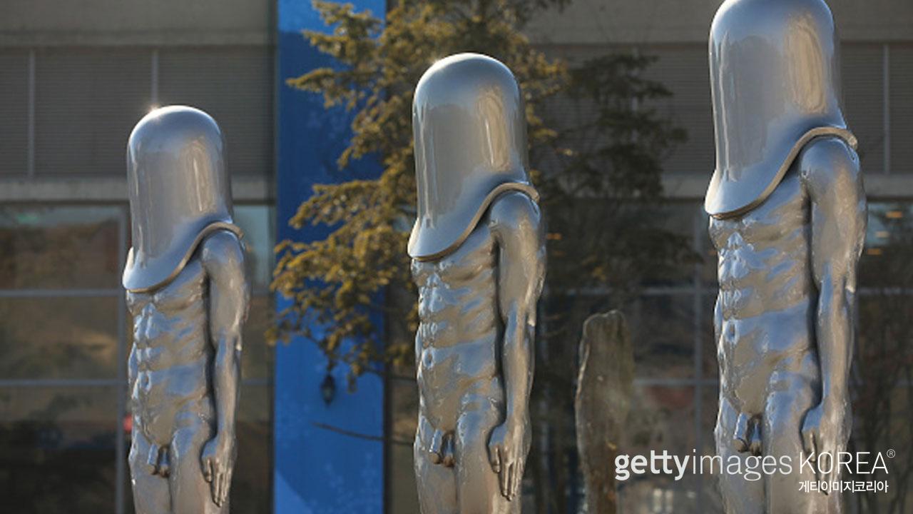 평창 올림픽 리조트 조각상 '모루겟소요' 일본에서 조롱