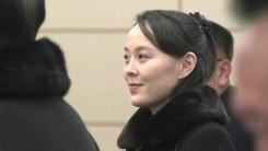 김여정·김영남 등 北 고위급 대표단 도착