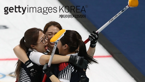 여자 컬링, 한일전 승리 '결승 진출'