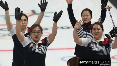 컬링 여자, 일본 꺾고 결승 '은메달 확보'