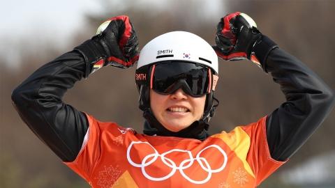 이상호, 남자 스노보드 평행대회전 올림픽 첫 은메달